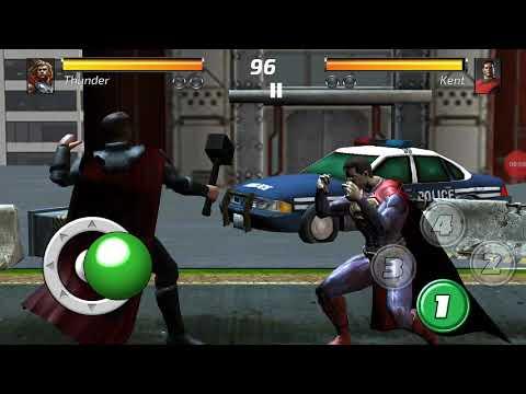 Superman Vs Thor The God Of Thunder Fight