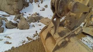 Обзор колёсного экскаватора CAT M318D