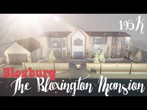 Bloxburg: The Bloxington Mansion Upgrade