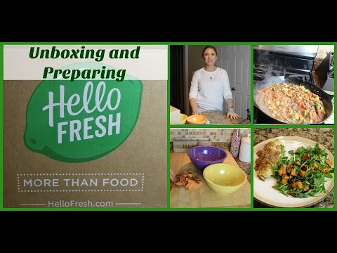 Hello Fresh | Unboxing | Preparing Meals | Food Delivery Service | LisaSz09