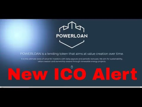 Brand New!!!!!!!! Ico  Powerloan Lending Token