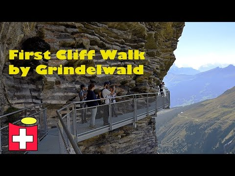 New World attraction in Switzerland - First Cliff Walk by Grindelwald