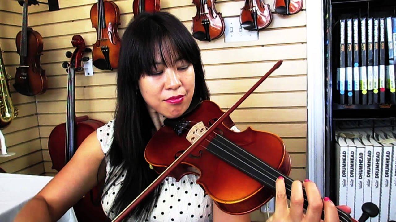 Yamaha av7sg 4 4 full size violin youtube for Violin yamaha 4 4