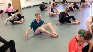 Contraction/breath exercise