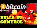 BITCOIN BULLS IN CONTROL ? bitcoin litecoin price prediction, analysis, news, trading