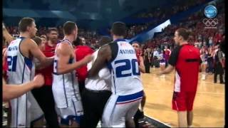 Wildcats-36ers Post-Match Melee 14/2/14 Thumbnail