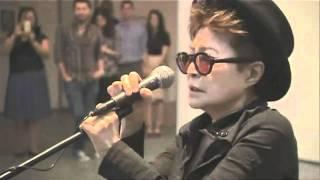 Yoko Ono Screaming at Art Show! (Original)