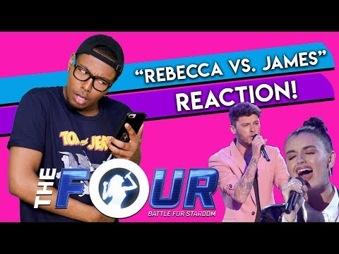 Rebecca Black vs. James Graham BATTLE  S2E1  The FOUR