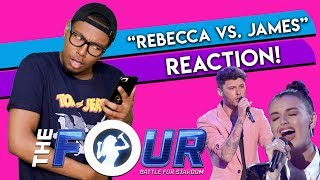 Rebecca Black vs. James Graham BATTLE | S2E1 | The FOUR