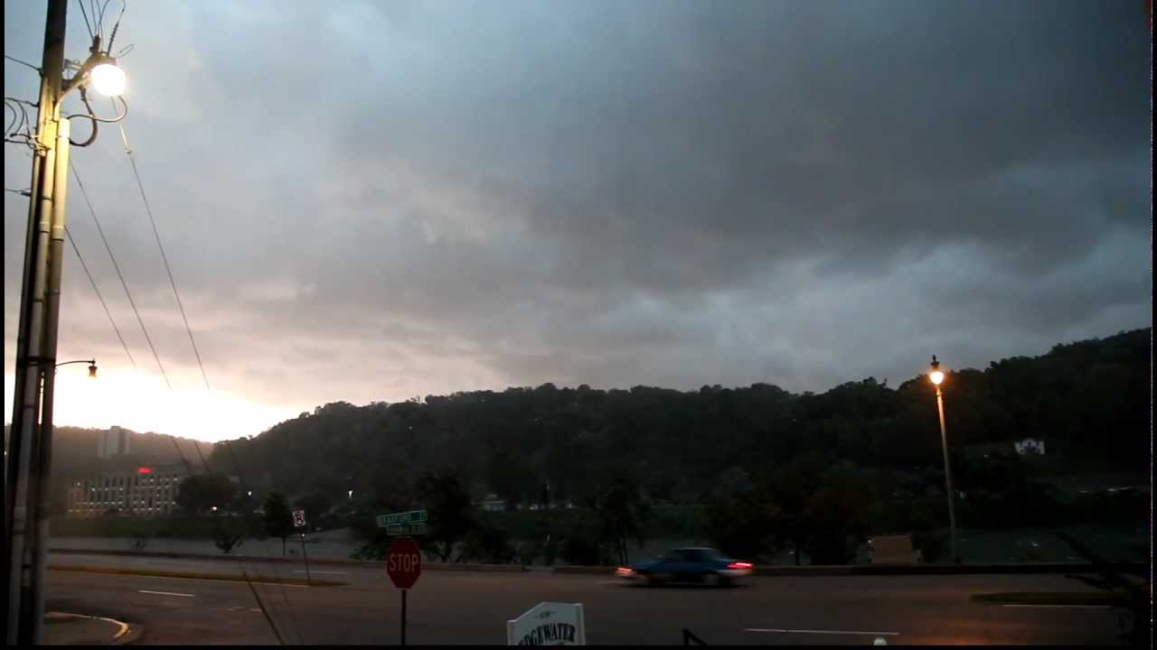 Derecho Storm In Charleston Wv On June 29th 2012 Youtube