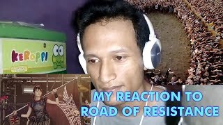 Hello, this is my reaction about BABYMETAL - Road Of Resistance Liv...