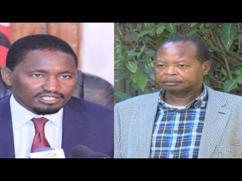 Nyeri Senator Ephraim Maina under fire for anti-CS Kiunjuri remarks