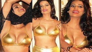 Poonam Pandey STRIPPING caught on camera