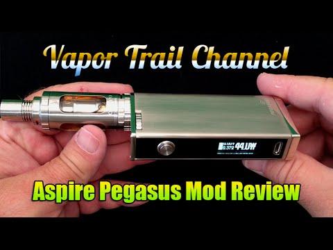 Aspire Pegasus 70w Mod Review