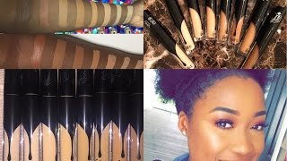 ALL DARK SHADES OF KAT VON D CREME CONCEALERS SWATCHES & REVIEW/FIRST IMPRESSIONS   7SHADES!!!