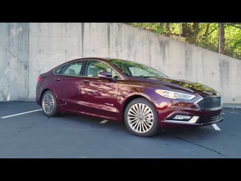 2017 Ford Fusion Hybrid Platinum Review - AutoNation