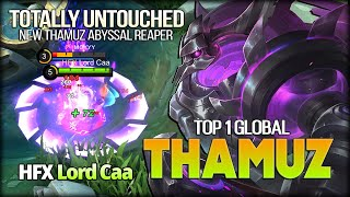 Thamuz Abyssal Reaper 100% Untouched! Lord Caa Top 1 Global Thamuz - Mobile Legends