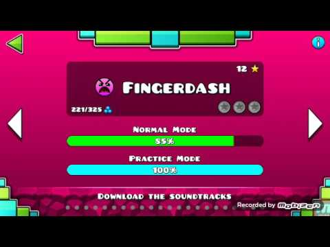 Geometry Dash | Fingerdash part 1 (please turn ur volume full)