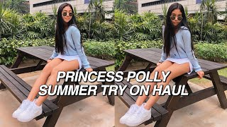 $500 summer try on haul *i need help* | Princess Polly