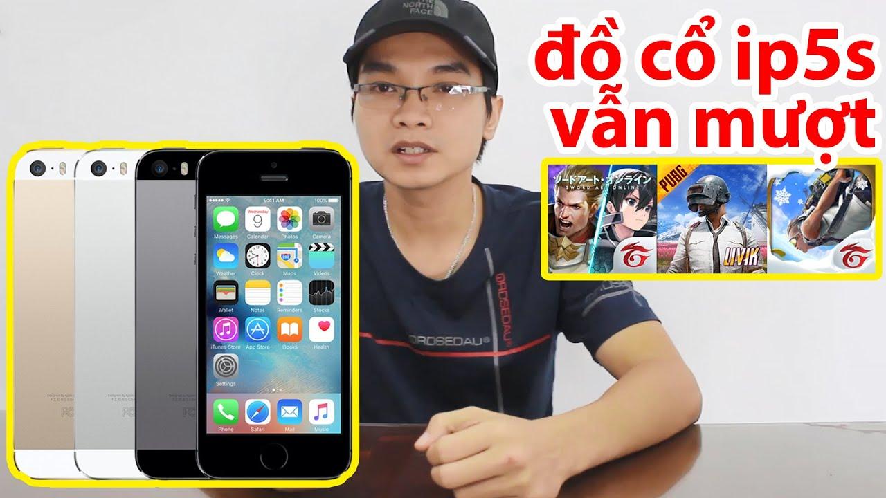 iPhone 5s Cũ Chơi Liên Quân PUBG Free Fire Vẫn Mượt Lắm | iPhone 5s Điện Thoại Cũ Giá Rẻ
