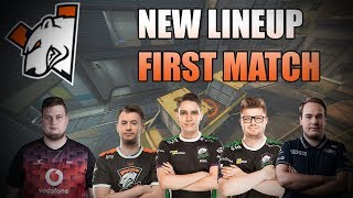 CS:GO - VIRTUS.PRO: FIRST MATCH WITH NEW LINEUP 2019 [HD]