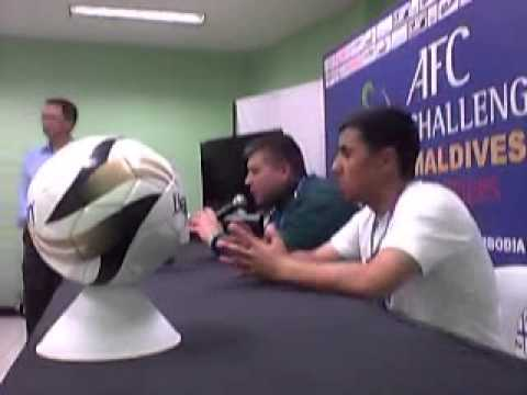 Philippines vs Turkmenistan Post-Match Press Conference - TKM edition