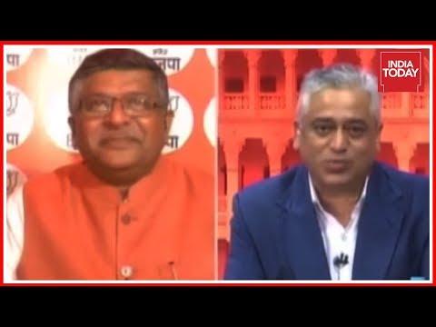 Ravi Shankar Prasad Exclusive On India Today After #KarnatakaVerdict2018