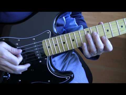 Part A9:  Bad (U2 Guitar Tutorial / Lesson) - Main Riff