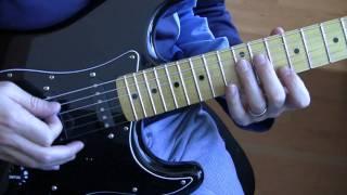 part a9 bad u2 guitar tutorial lesson main riff