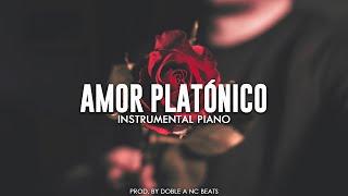 Amor Platónico - Beat Rap Romantico Emocional / Piano Instrumental Emotional