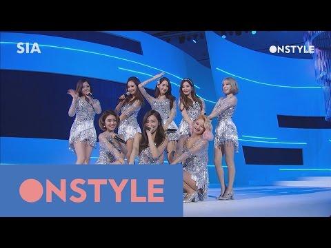 2016SIA [스타일아이콘TOP10] 명불허전 역시 소녀시대의 ′Lion Heart′ 160315 EP.2