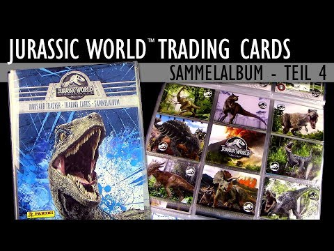 Jurassic World 2 ™ Fallen Kingdom - Trading Cards - Teil 4 -