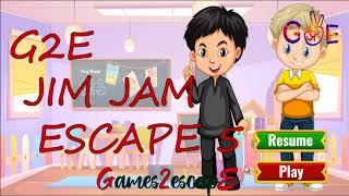 G2E Jim Jam Escape 5 Walkthrough