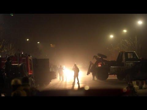 Bomb Blast Near Spanish Embassy In Afghanistan