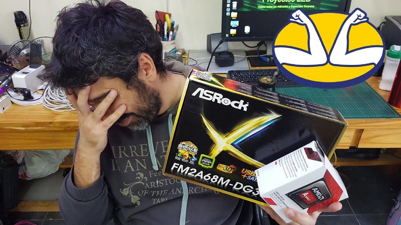 Compro la PC mas barata de mercado libre, nada puede malir sal