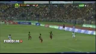 إثيوبيا 0-2 الجزائر - هدف ياسين براهيمي