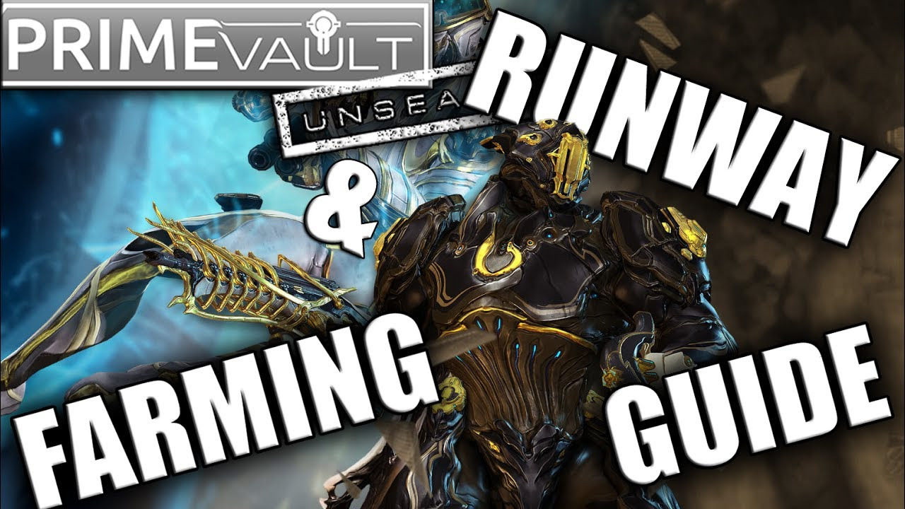 Rhino/Mag Unvaulting - Runway & Farming Guide by Brozime