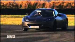 Lotus Evora S test drive by Evo
