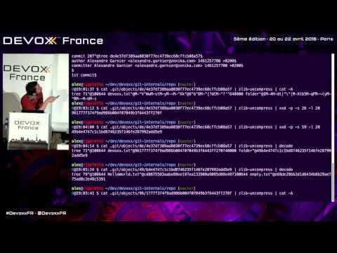 Entrer dans les entrailles de Git, ou comment faire un commit sans faire du Git (French)
