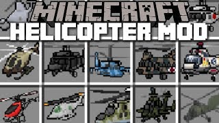 Minecraft HELICOPTER MOD / FLY WITH VILLAGERS AND FIGHT THE ZOMBIE PIGMAN!! Minecraft