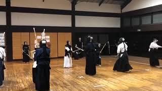 KENDO practice in japan..