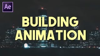 City Black Out Animations (Andreas Hem After Effects Tutorial)