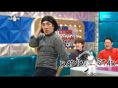 [RADIO STAR] 라디오스타 - Lee Sang-hun's dirty sexy dance 20151118