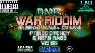 Danz War Riddim -  [Instrumental/Version] - Danz Productions | June 2015