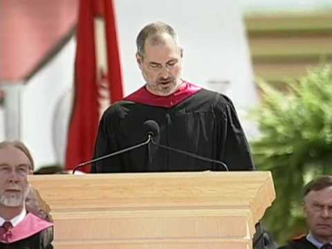 Steve Jobs' 2005 Stanford Commencement Address (with intro b