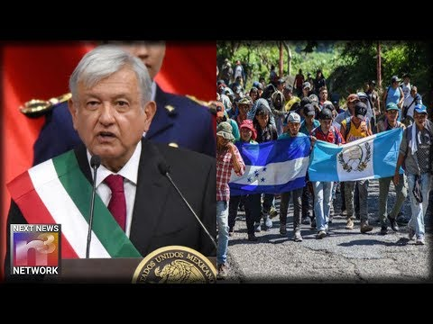 Mexico's New President QUICKLY Signs Legislation Aimed at SHUTTING DOWN Migrant Caravans