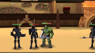 Planet Hulk Gladiators Gameplay
