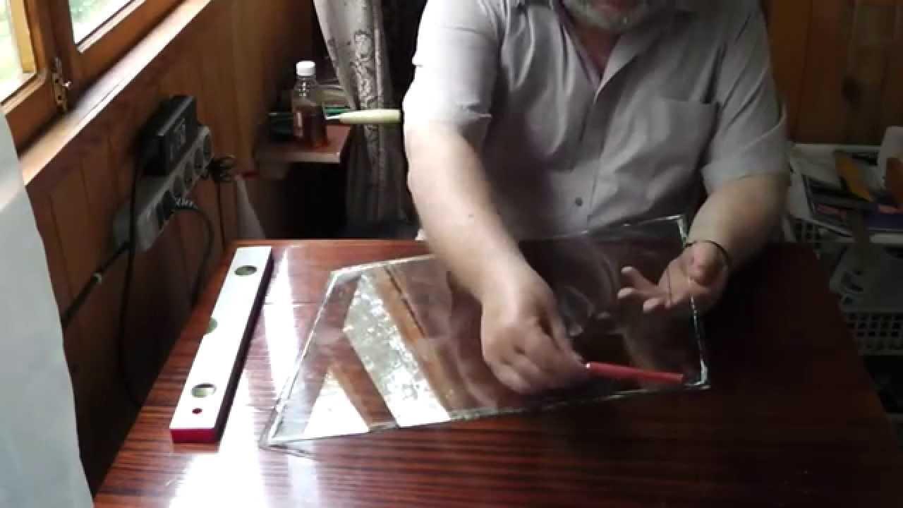 Как резать стекло в домашних условиях