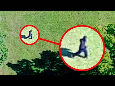 Bigfoot Caught on Tape by Drone