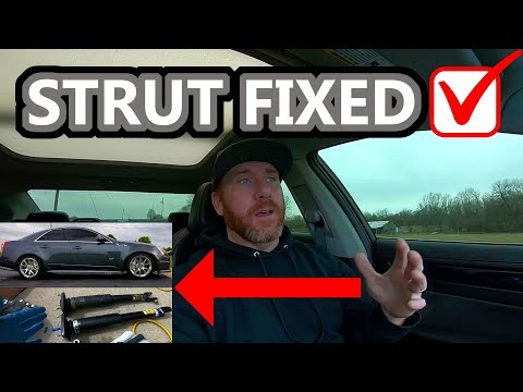 How to Replace Strut Cadillac CTS-V / CTS